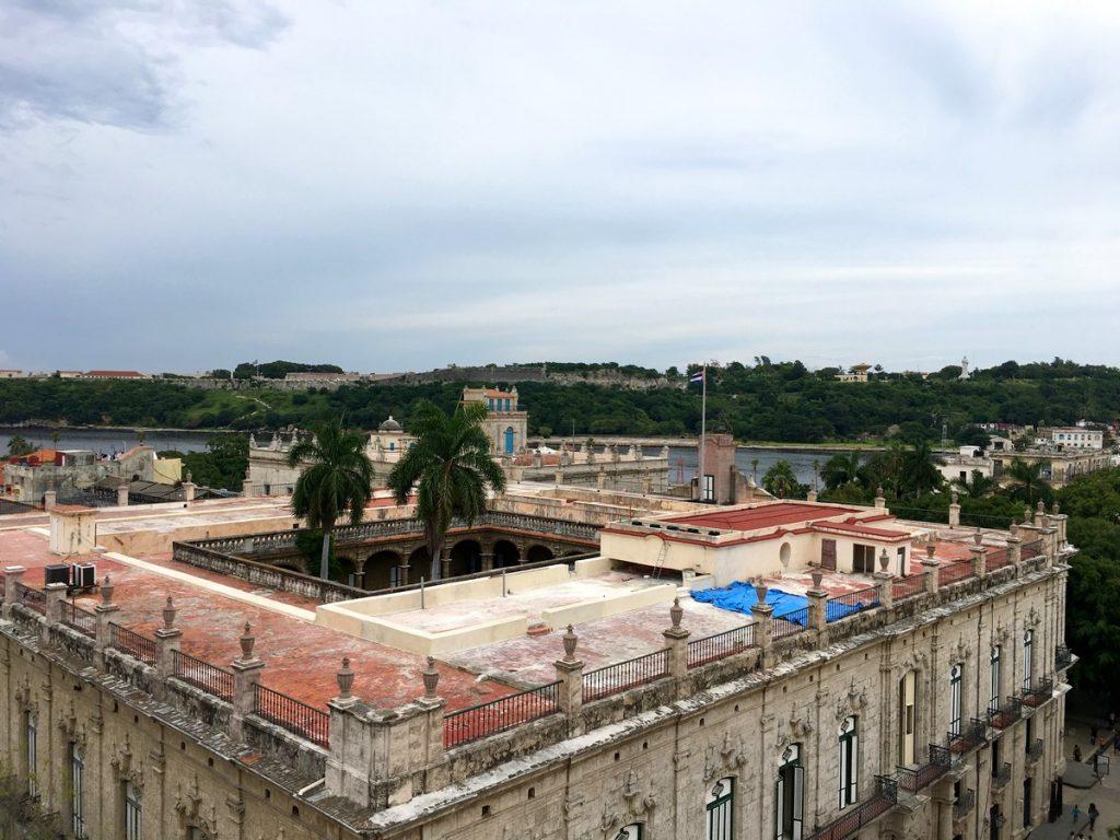 Vistas desde la terraza del Hotel Ambos Mundos