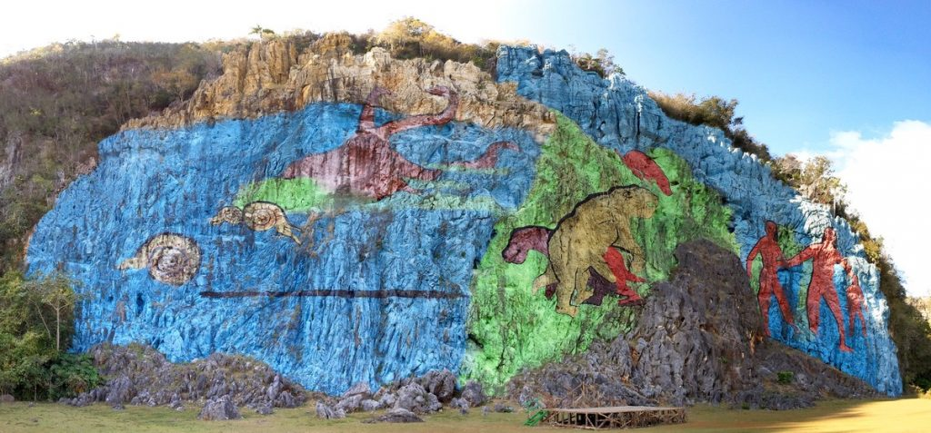 Mural prehistórico de Viñales