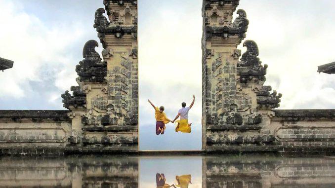 Saltando en Pura Lempuyan